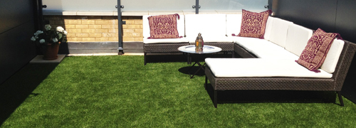 Artificial Grass - Balcony in London
