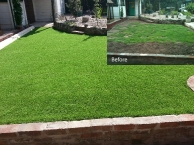 Artificial Grass, Installed in less than a day by our skilled team