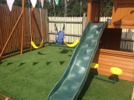 Artificial Grass is ideal for safe, clean, and fun children's play areas and gardens